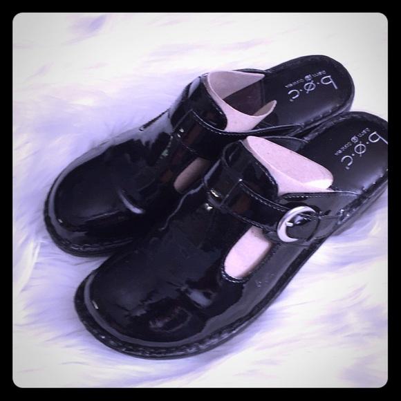 boc Shoes - NIB boc patent clogs